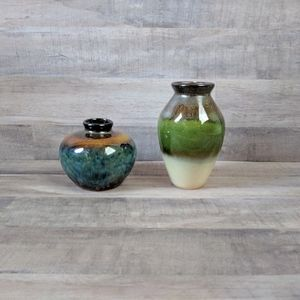 Decorative vase pair